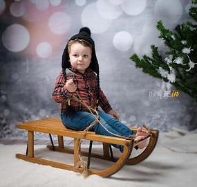 Minis séances de Noël avec Bébé Corrézien