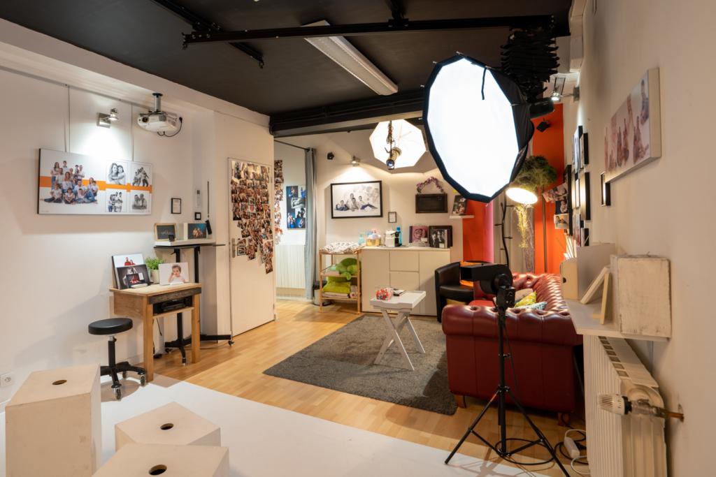 studio image in